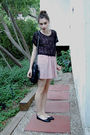 Black-h-m-top-vintage-dress-black-chanel-purse-black-h-m-shoes