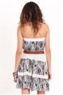 White Printed Dresses