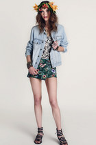 treadsence jacket - One Teaspoon skirt - Report Signature sandals