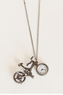 Bicycle-watch-necklace