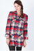 red flannel tunic dress