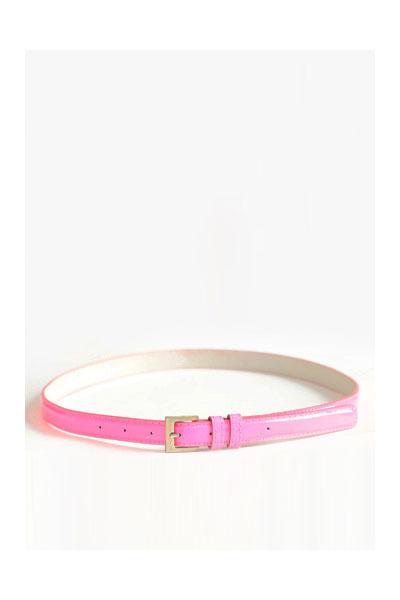 pink neon belt