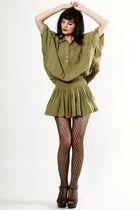 green Vintage from THRIFTEDnet dress