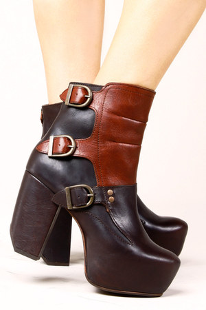 leather boots Miista shoes
