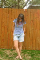 sunglasses - necklace - Gap skirt - Gap shorts - Target shoes
