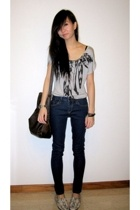 Forever21 top - Topshop jeans