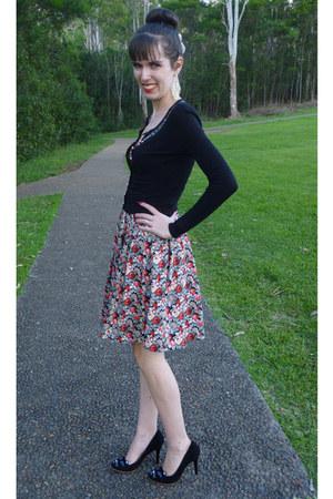 sequin cardigan Alannah Hill cardigan - Jonston & Bell dress