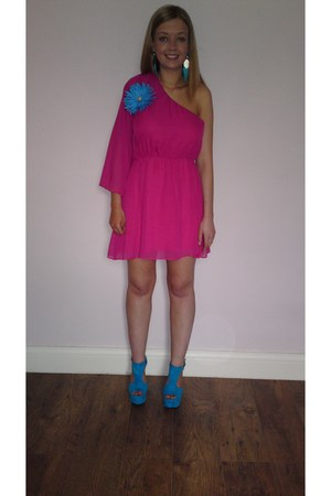 wedges - dress