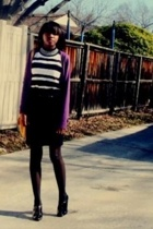 sweater - skirt - shoes -