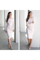 ted baker shoes - lace midi dress Doliche dress