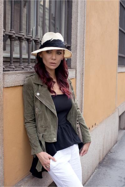 blank nyc jacket - Delphine top