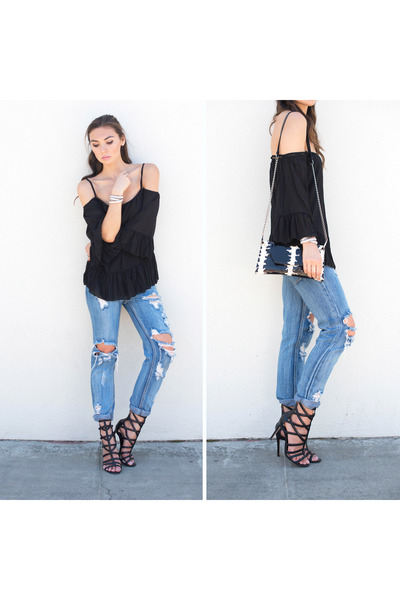 d9aeef6a7 Bardot Top WalG Tops, Awesome Baggies One Teaspoon Jeans  