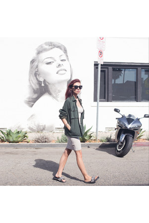 Dynamite dress - hidden jean jacket