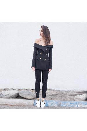 grommet pants Asilio pants - Adidas shoes - Asilio top