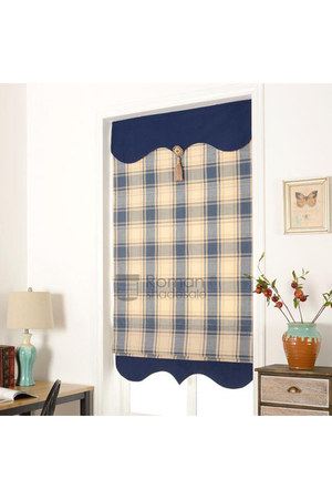 navy blue romanshadesale home decor