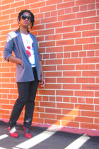 I heart ronson blazer - Ana pants - kate and kelly shoes
