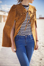 Blue-zara-jeans-burnt-orange-zara-jacket-h-m-t-shirt
