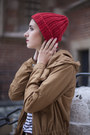 Bronze-asos-coat-red-merino-wool-tenderside-hat-new-dress-t-shirt