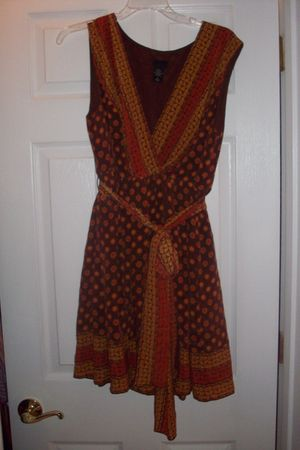 brown Anna Sui Target dress
