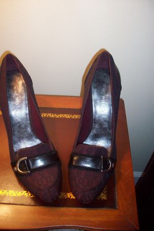 purple Nine West shoes