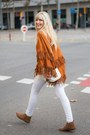 Tawny-booties-tex-boots-white-paco-martinez-bag-white-skinny-h-m-pants