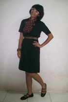 dress - belt - -