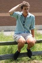 H&M shirt - H&M shoes - Chaps shorts