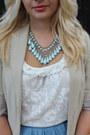 Zara-blazer-new-yorker-top-boohoocom-skirt-newlook-flats
