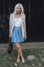 Zara-blazer-boohoocom-skirt-new-yorker-top-newlook-flats