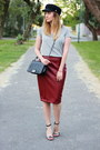 Zara-shoes-choiescom-hat-primark-t-shirt-newyorker-skirt