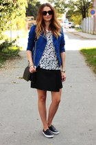 asos shoes - Zara skirt - reserved t-shirt