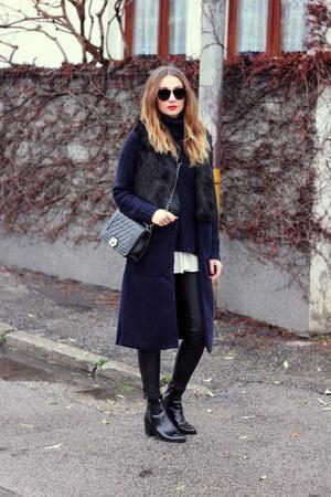 Sheinside vest - ankle boots Zara shoes - Primark leggings