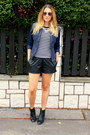 Primark-boots-stradivarius-jacket-faux-leather-oasap-shorts