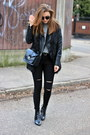 Zara-shoes-ripped-shein-jeans-f-f-sweater-new-yorker-bag