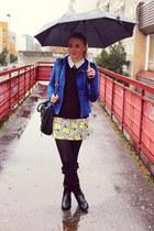Stradivarius boots - Sheinsidecom dress - New Yorker jacket - H&M sweater