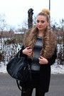 Faux-fur-colar-ebay-scarf-ankle-boots-atmosphere-shoes-new-yorker-coat