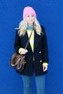 Zara-coat-new-yorker-sweater-denim-zara-shirt-beanie-h-m-accessories