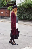 F&F cardigan - Choies hat - asos leggings - sammydress bag