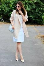 Zara shoes - Sheinside coat - H&M bag - Zara skirt - Pimkie top