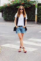 Zara shoes - H&M shorts - Zara t-shirt - F&F vest