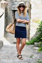 Denim & Stripes
