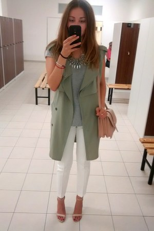 Mango bag - Zara pants - EliteFashion99 vest