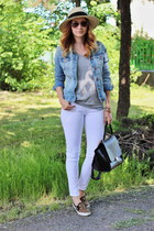 Primark jeans - asos shoes - Primark hat - PERSUNMALL bracelet