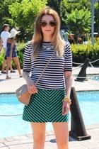 asos bag - Zara skirt - vintage top