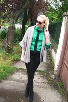 asos shoes - H&amp;M shirt - Calliope cardigan