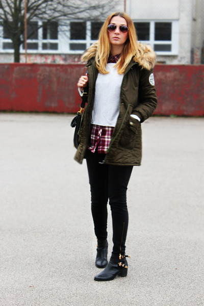 parka Oasapcom jacket - ebaycouk boots