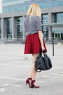 Zara-shoes-stradivarius-skirt