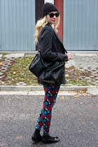 Ebay shoes - Pimkie coat - asoscom leggings