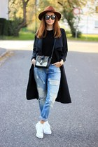 trench Newdress coat - Zara bag - Lucluc sunglasses - Adidas sneakers