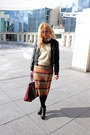 Ankle-zara-boots-h-m-jacket-vintage-sweater-mango-bag